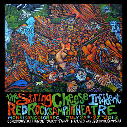 String Cheese Incident Red Rocks Amphitheatre - 2013