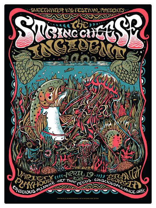 String Cheese Incident Atlanta - 2018