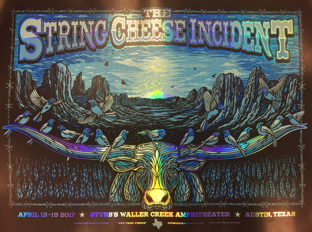 THE STRING CHEESE INCIDENT AUSTIN - 2017 (FOIL VARIANT)