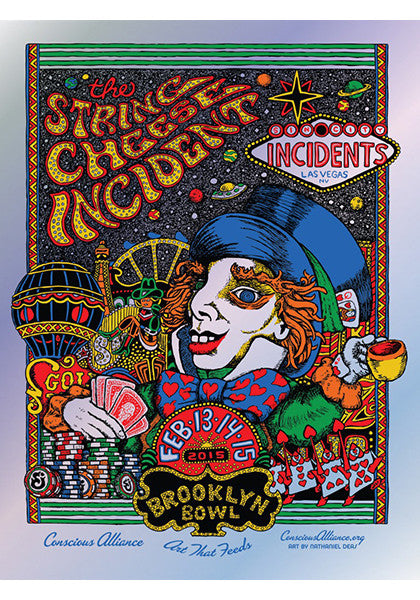 String Cheese Incident Las Vegas - 2015