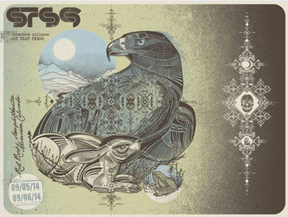 STS9 Red Rocks Amphitheatre - 2014 (2 Panel)