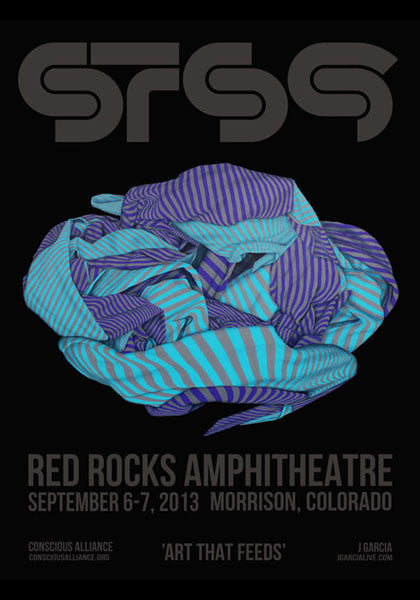 STS9 Red Rocks Amphitheatre - 2013