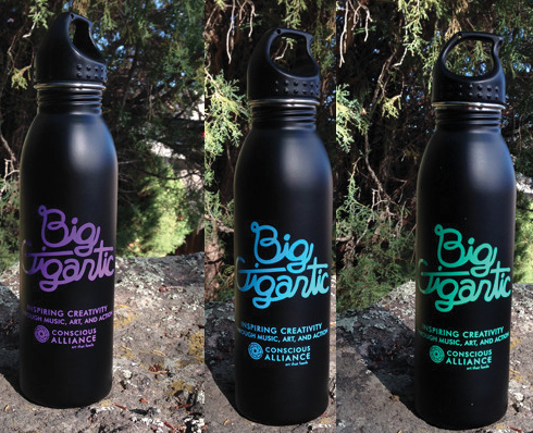 Big Gigantic x Conscious Alliance Water Bottle