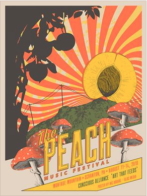 The Peach Music Festival - 2016