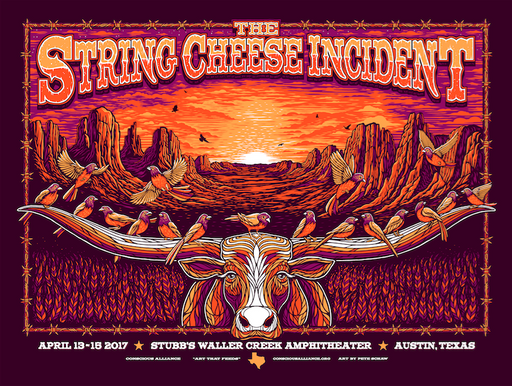 THE STRING CHEESE INCIDENT AUSTIN - 2017