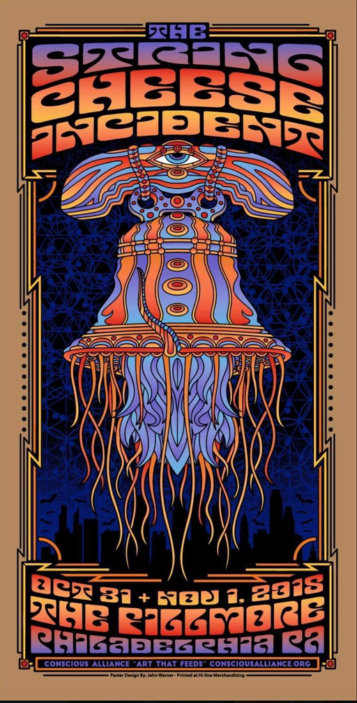 String Cheese Incident Philadelphia - 2018