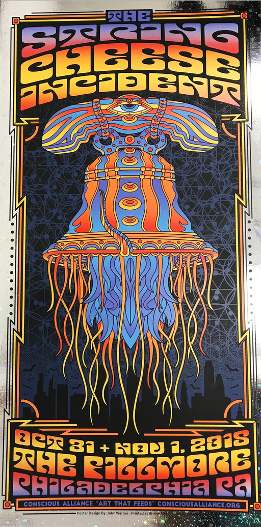 String Cheese Incident Philadelphia - (Foil Variant) 2018