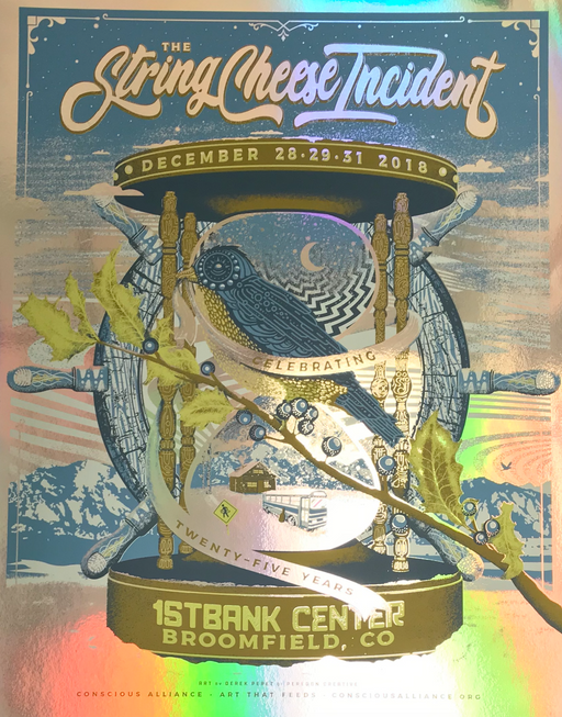 String Cheese Incident Broomfield - 2018 (Foil Variant)
