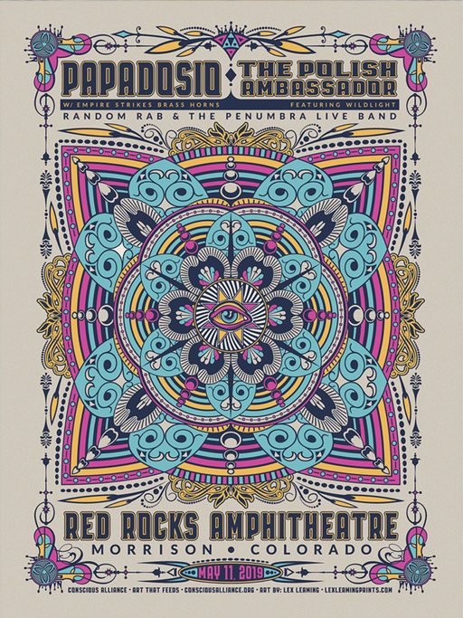 Papadosio & The Polish Ambassador Ft Wildlight, Random Rab Morrison - 2019