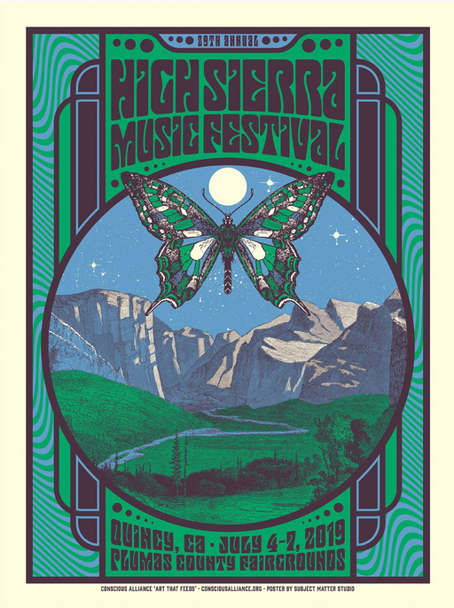 High Sierra Music Festival Quincy -2019