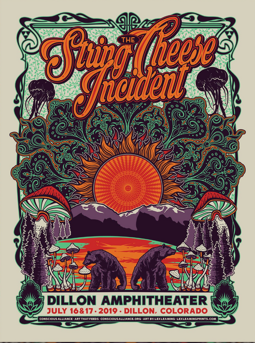 String Cheese Incident Dillon - 2019