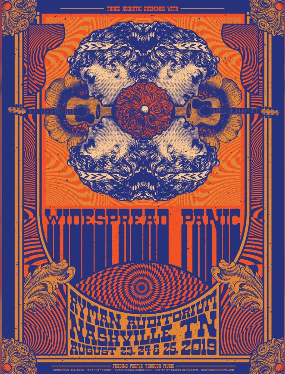 Widespread Panic Nashville - 2019