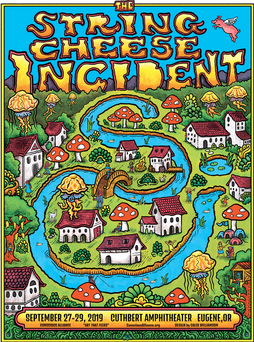 String Cheese Incident Eugene - 2019