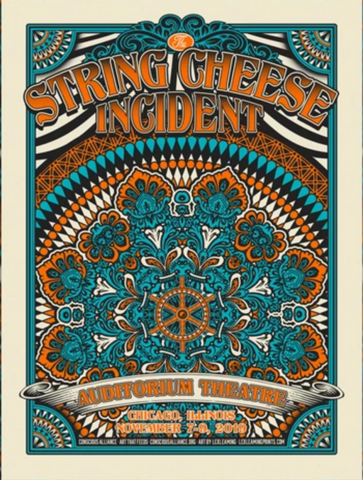 String Cheese Incident Chicago - 2019