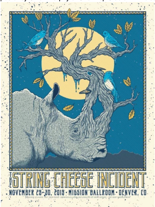 String Cheese Incident Denver - 2019
