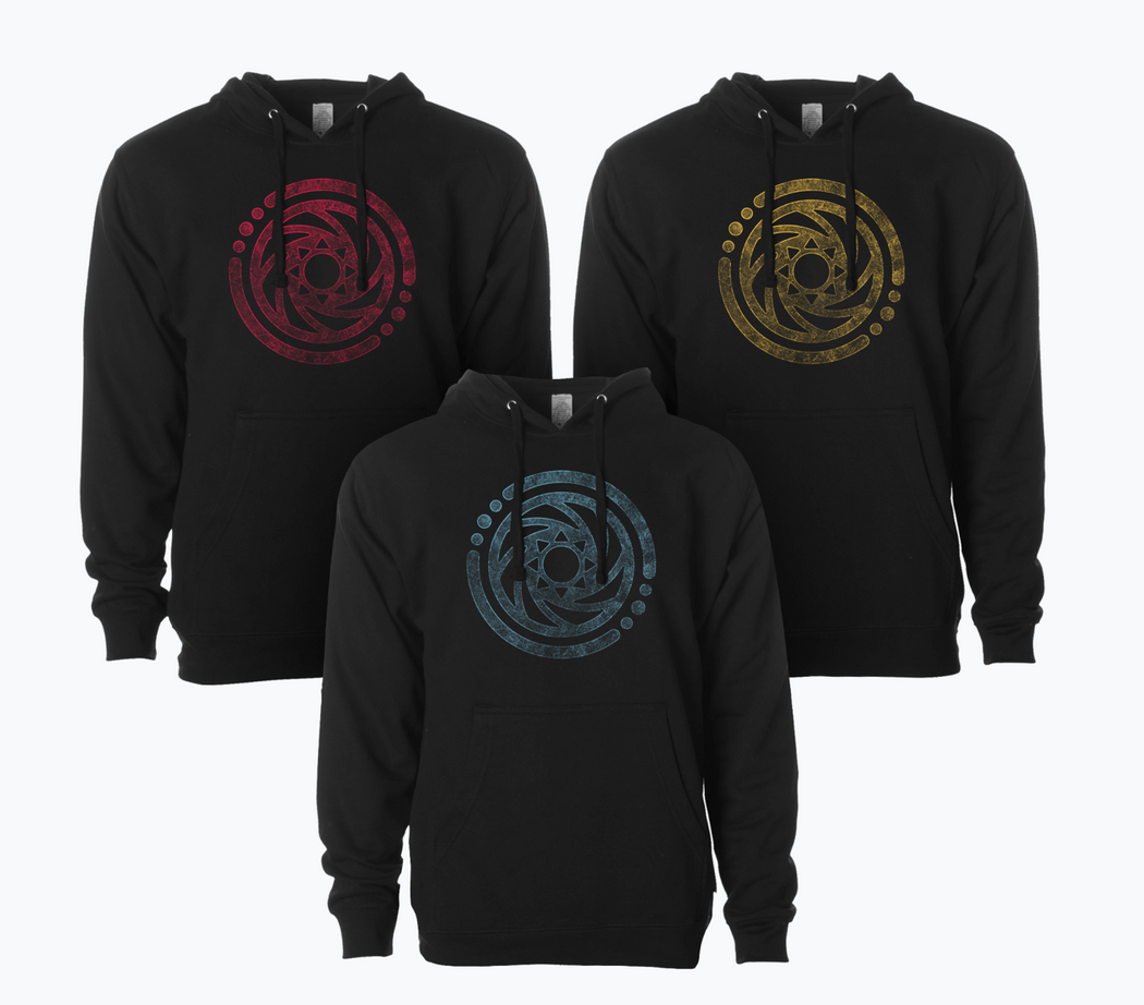 Circle Logo Lightweight Pullover Hoodie