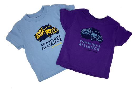 Conscious Alliance Truck Kids T-Shirt