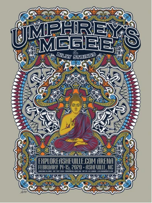 Umphrey's McGee & Billy Strings Asheville - 2020