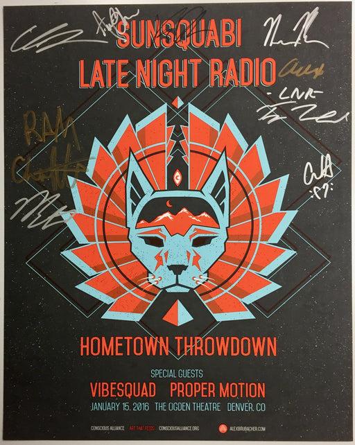 Sunsquabi & Late Night Radio Denver - 2016