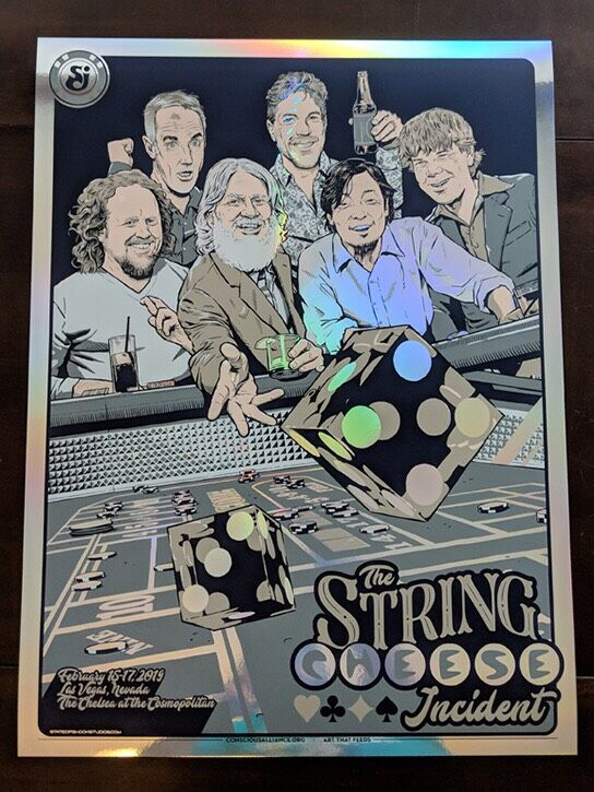 String Cheese Incident Las Vegas - 2019