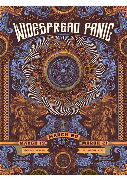 Widespread Panic Oakland - 2015
