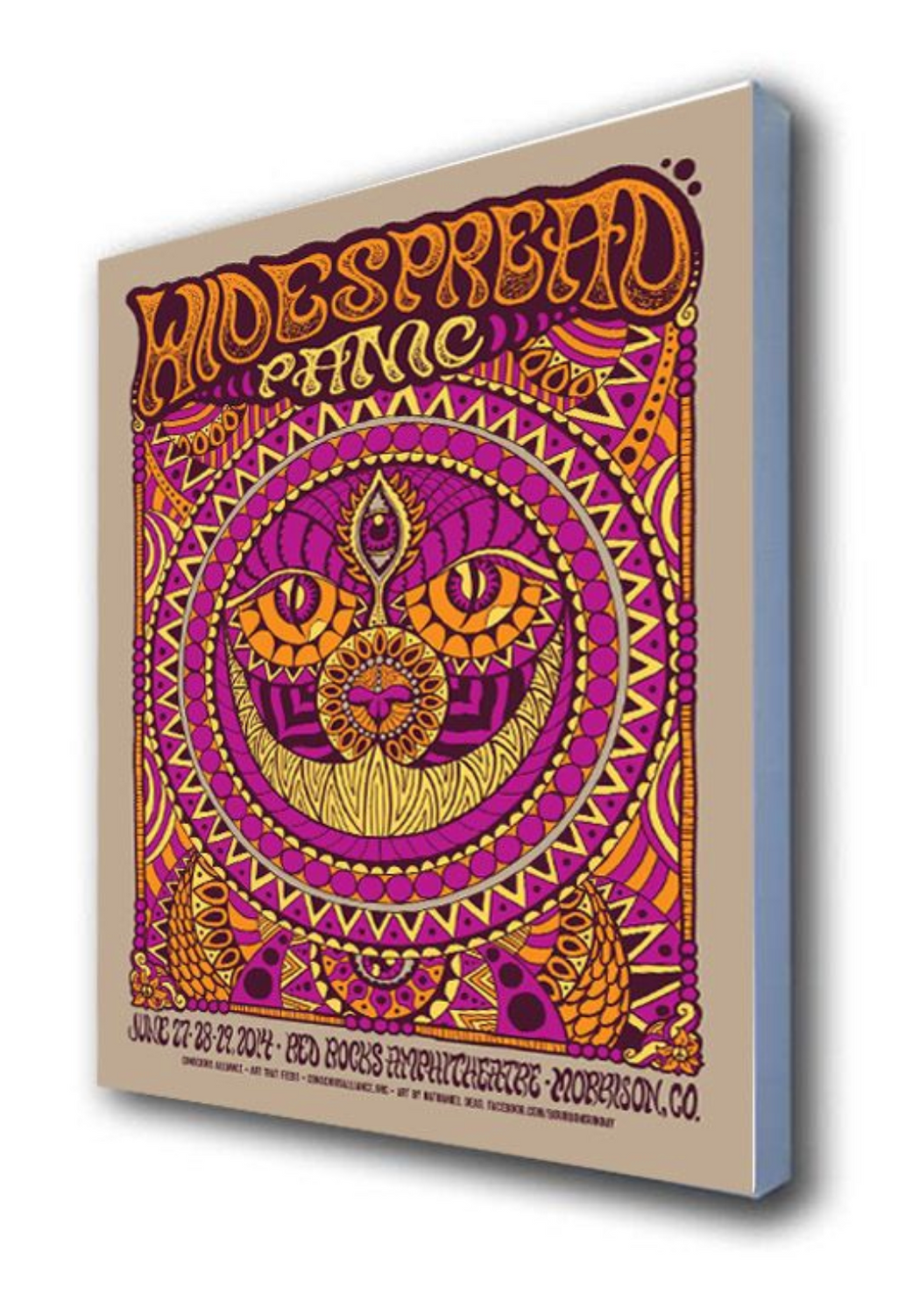 Widespread Panic Red Rocks Amphitheatre - 2014