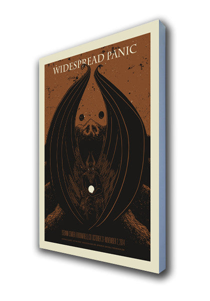 Widespread Panic Halloween - 2014 (Brown)
