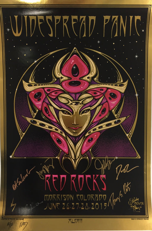 Widespread Panic Red Rocks - 2015 (Foil)