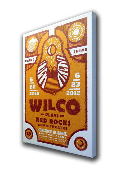 Wilco Red Rocks Amphitheatre - 2012