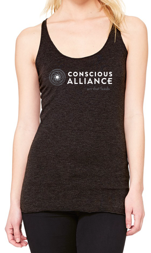 Women's Conscious Alliance Logo Tank (Grey)