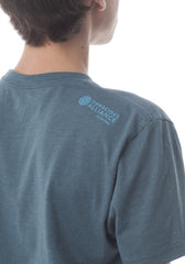 Steel Blue Logo Tee