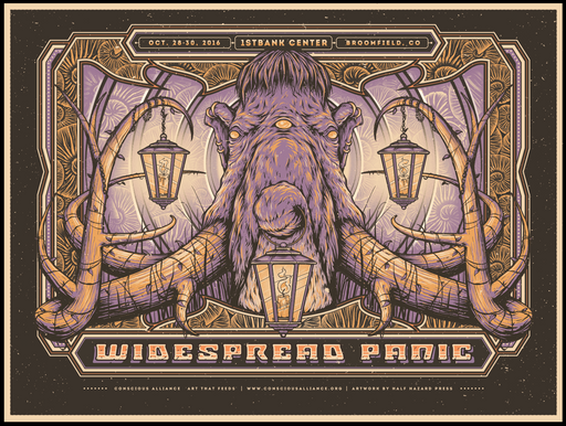Widespread Panic Broomfield - 2016
