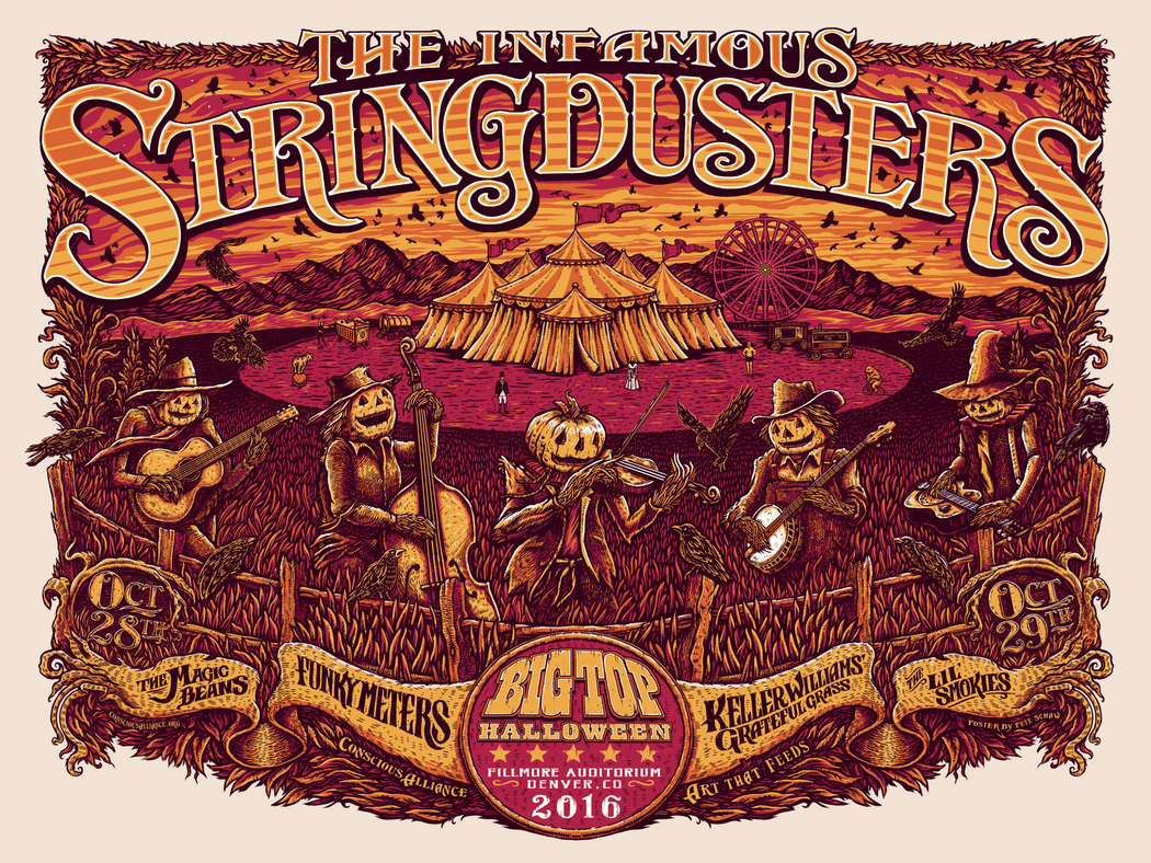 The Infamous Stringdusters Denver - 2016