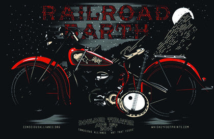 Railroad Earth  Boulder - 2014 (Black)