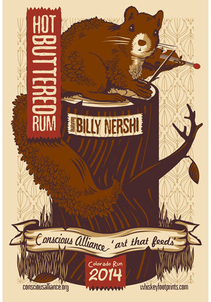 Hot Buttered Rum w/ Billy Nershi - 2014