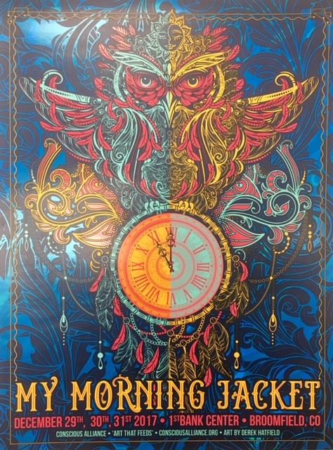 My Morning Jacket Broomfield - 2017 NYE (Foil Variant)