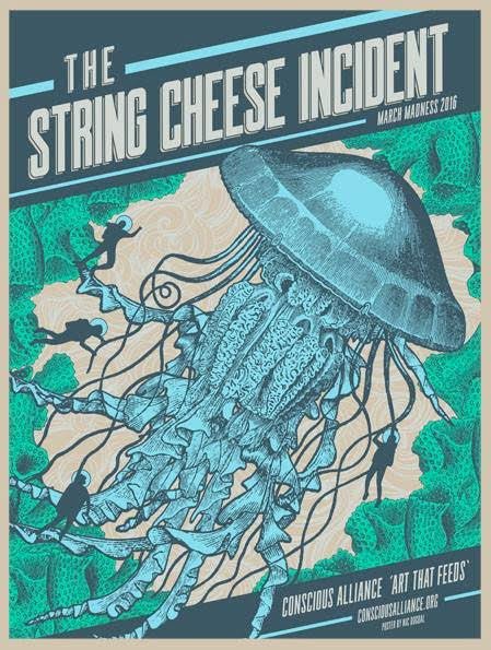 String Cheese Incident March Madness Tour - 2016
