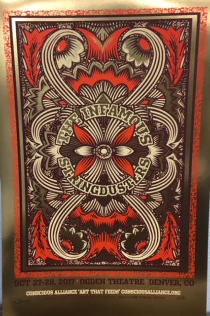 The Infamous Stringdusters Denver - 2017 (Foil Variant)