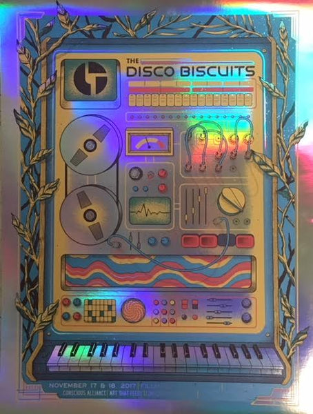 Disco Biscuits Denver - 2017 (Foil Variant)