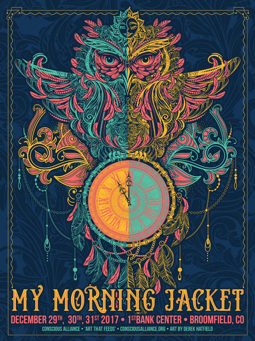 My Morning Jacket Broomfield - 2017 NYE