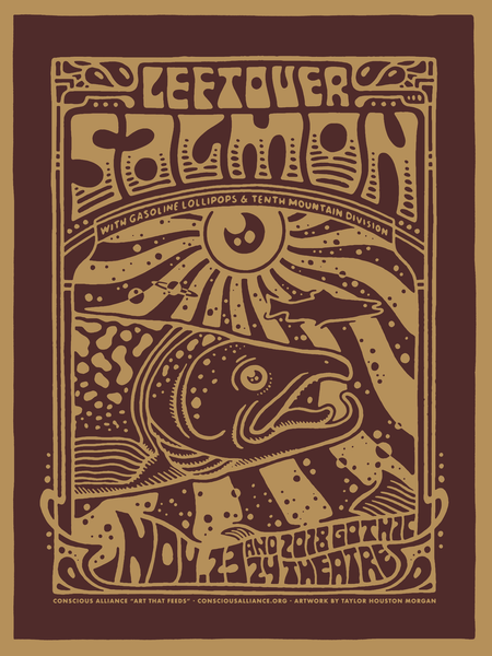 Leftover Salmon Denver - 2018