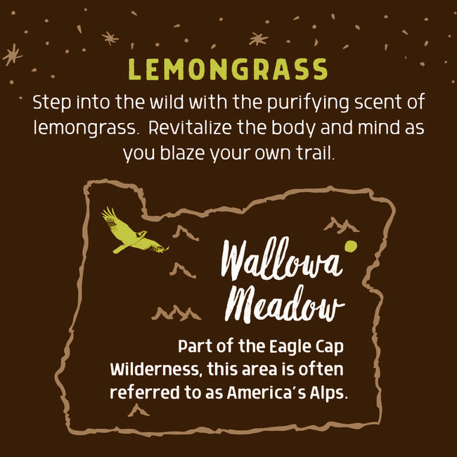 Wild For Oregon Wallowa Meadow Lemongrass Bar Soap