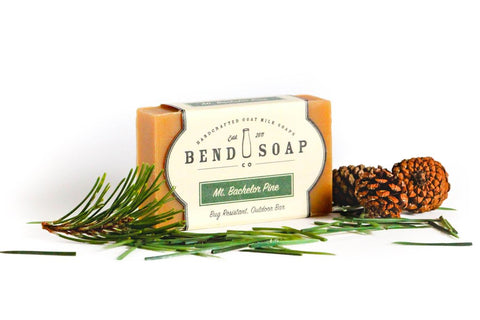 Bend Soap Co. Eucalyptus Spearmint Goat Milk Bar Soap