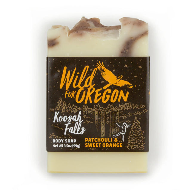 Wild For Oregon Koosah Falls Sweet Orange & Patchouli Bar Soap