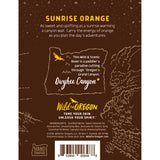 Wild For Oregon Owyhee Canyon Sunrise Orange Body Lotion