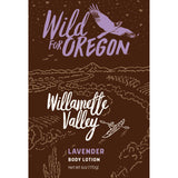 Wild For Oregon Willamette Valley Lavender Body Lotion