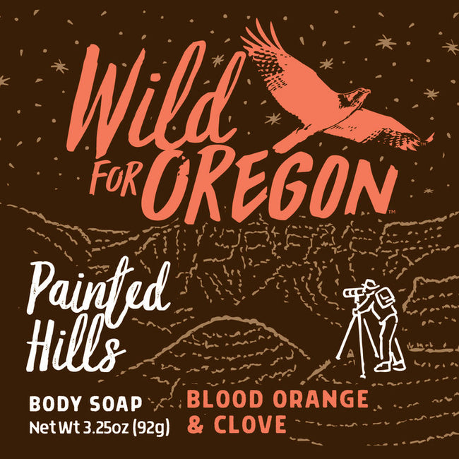 Wild For Oregon Painted Hills Blood Orange & Clove Bar Soap