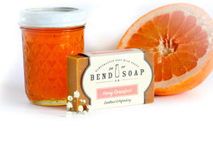 Bend Soap Co. Honey Grapefruit Goat Milk Bar Soap