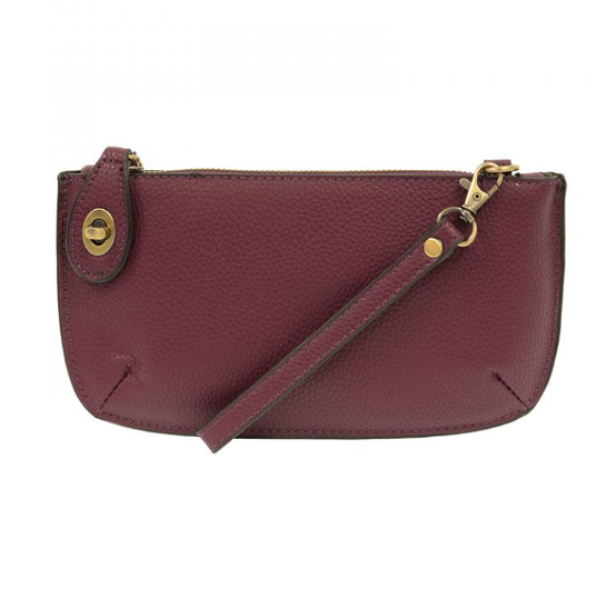 Joy Mini Crossbody Clutch - Plum