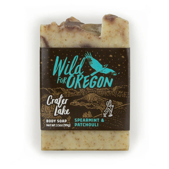Wild For Oregon Crater Lake Spearmint & Patchouli Bar Soap